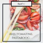 Ahjutomatine pasta ehk eksperiment alga!